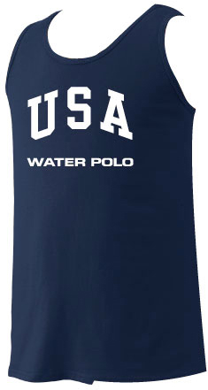 12cbfa79d USA Water Polo Adult Tank Top