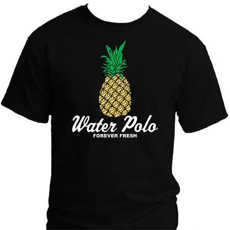 Forever Fresh Pineapple Water Polo T Shirt