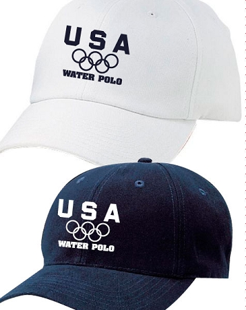 3a147324f7a Olympic Rings Water Polo Hat